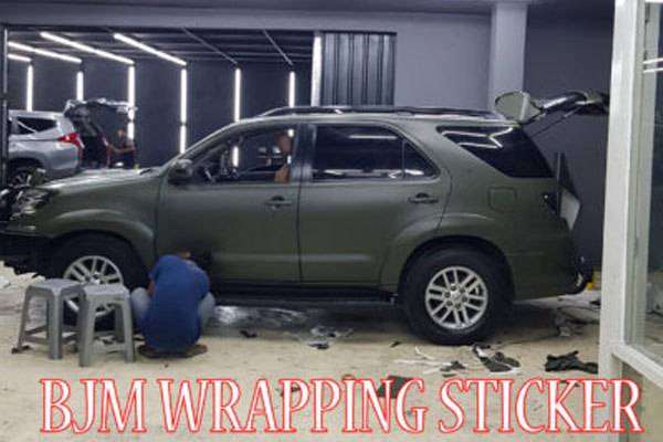 BJM WRAPPING STICKER